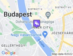 City Hotel Mátyás a térképen