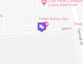 Hotel Karos Spa a térképen